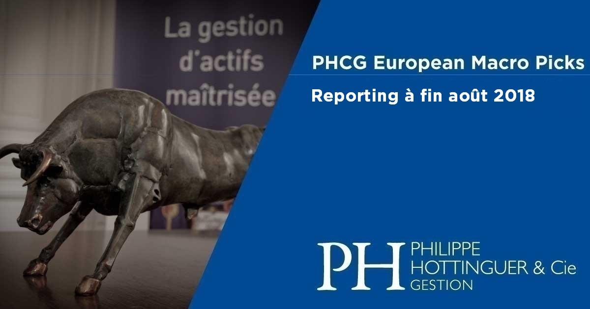 PHCG EMP : Reporting à fin août