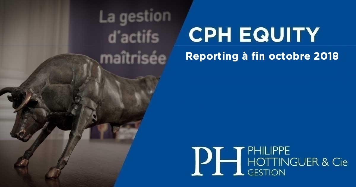 CPH Equity : reporting à fin octobre