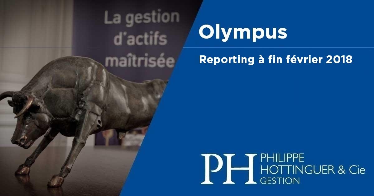 OLYMPUS : Reporting à Fin Février