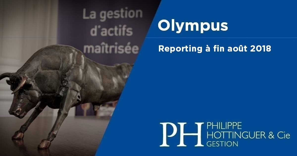 OLYMPUS : Reporting à Fin Août
