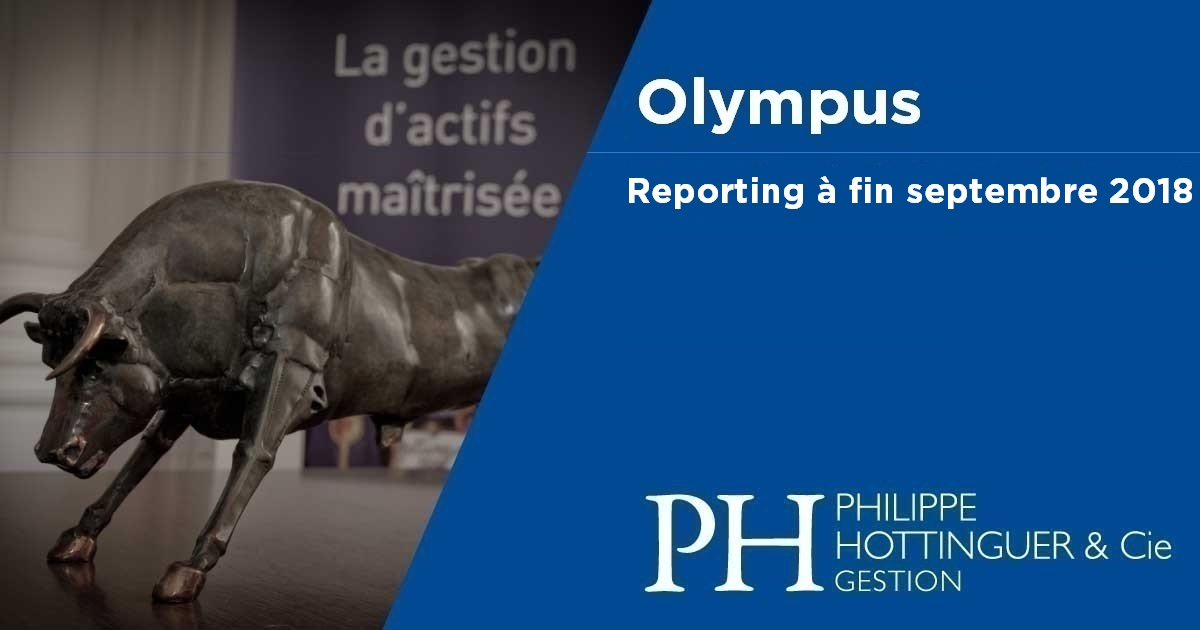 OLYMPUS : Reporting à Fin Septembre