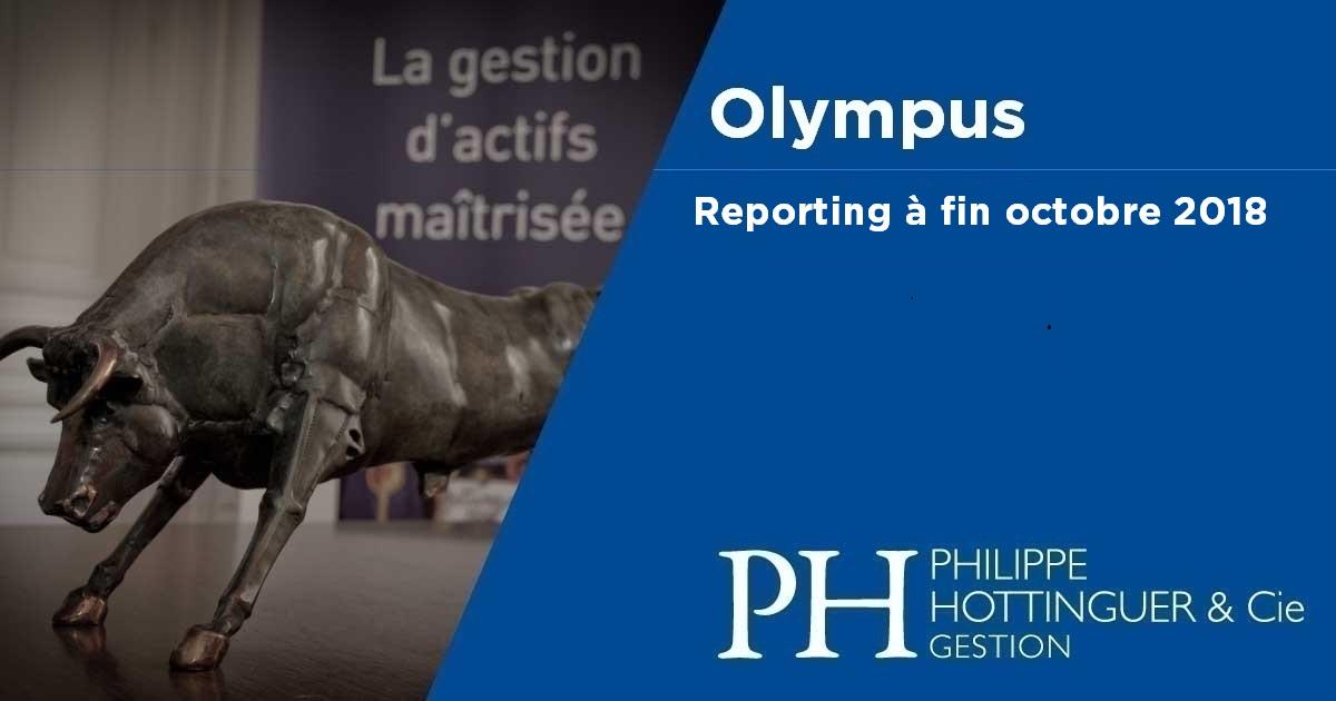 OLYMPUS : Reporting à Fin Octobre
