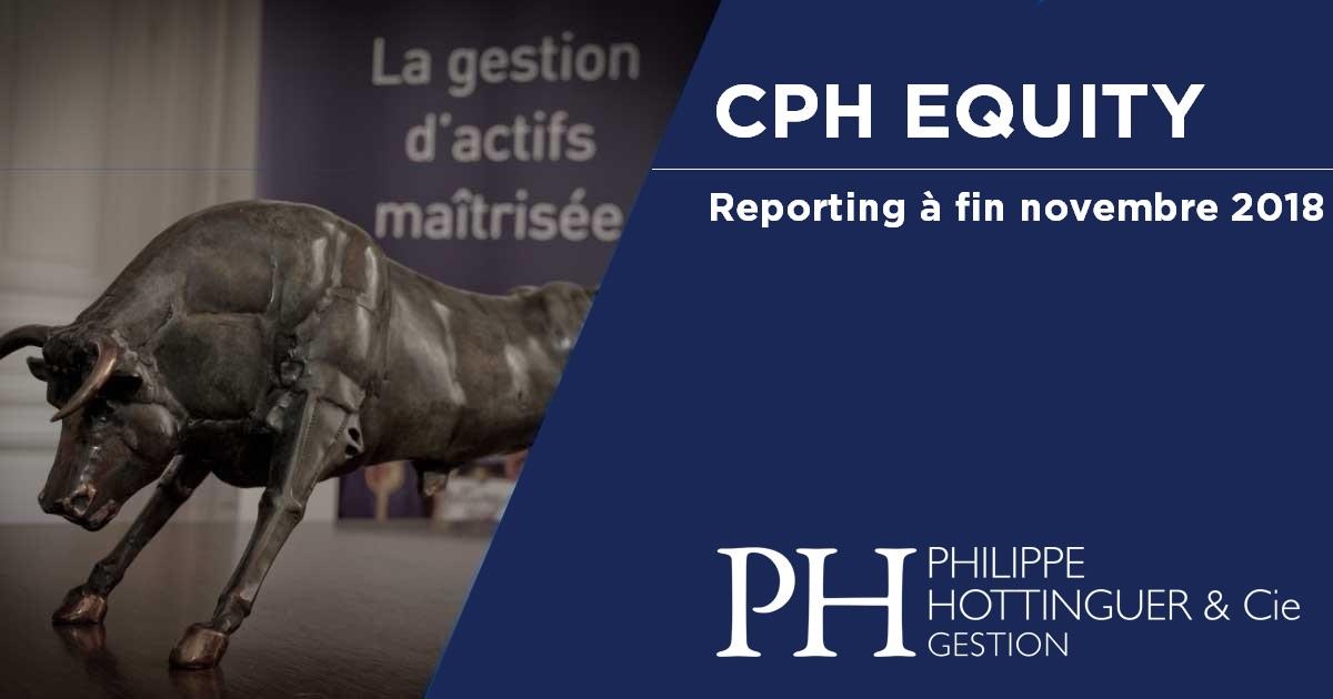 CPH Equity : Reporting à Fin Novembre