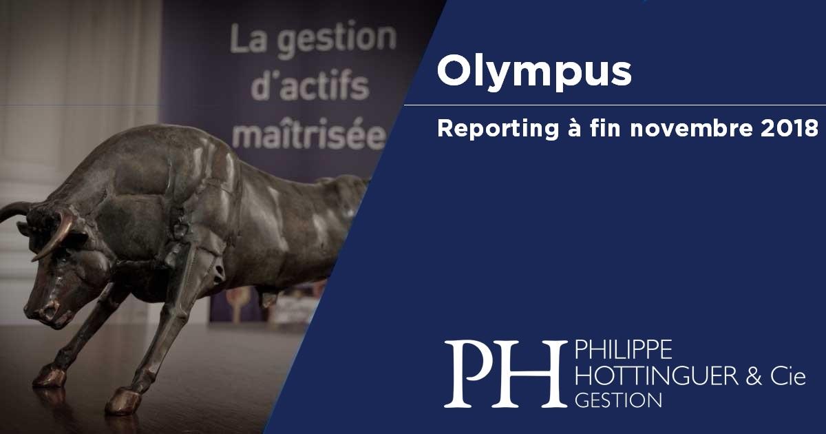 OLYMPUS : Reporting à Fin Novembre
