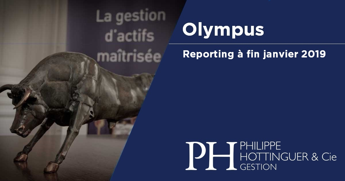 OLYMPUS : Reporting à Fin Janvier