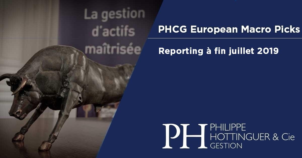 PHCG EMP : Reporting à Fin Juillet 2019