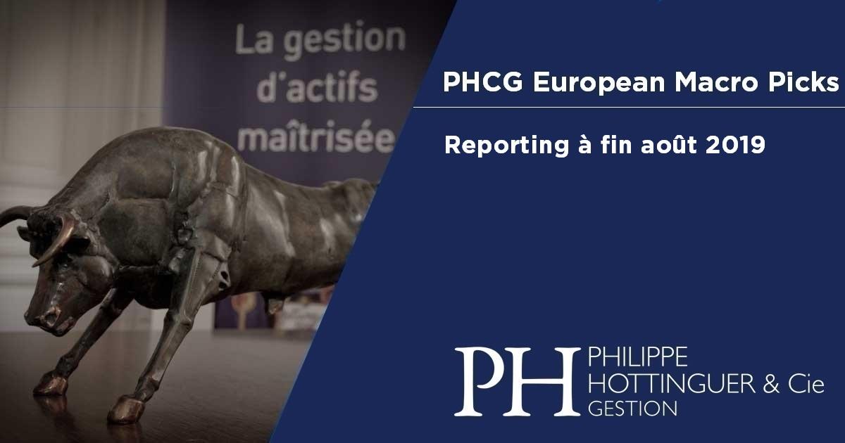 PHCG EMP : Reporting à fin août 2019