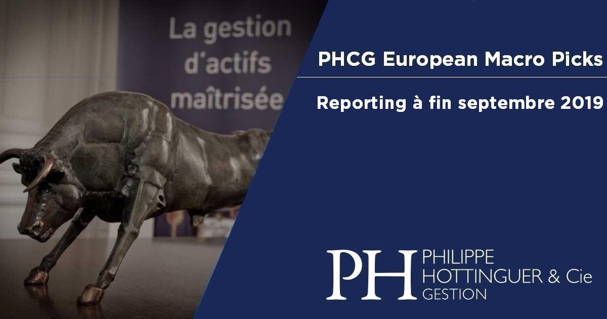 PHCG EMP : Reporting à Fin Septembre 2019