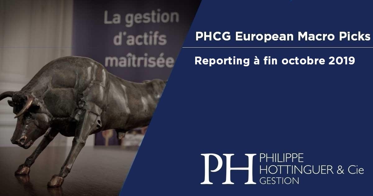 PHCG EMP : Reporting à fin octobre 2019