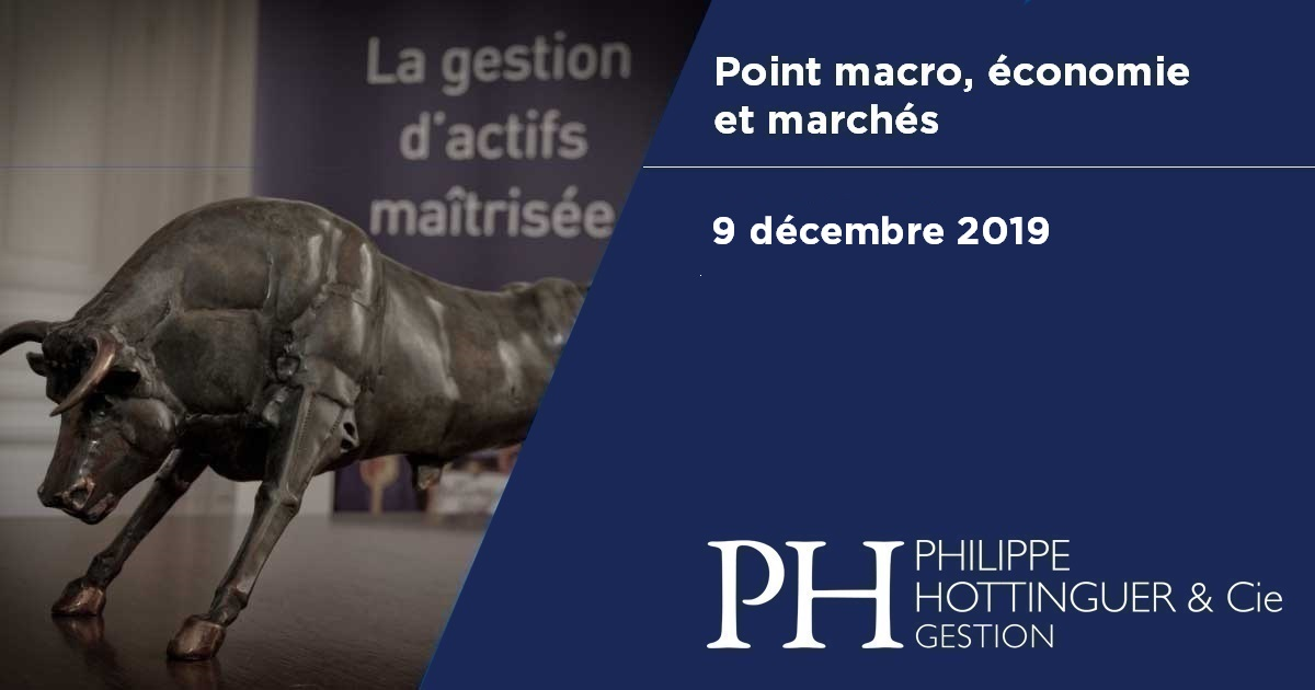 Point Macro Du 9 Décembre 2019 : économie Et Marchés, Notre Analyse Du Contexte Actuel Et à Venir
